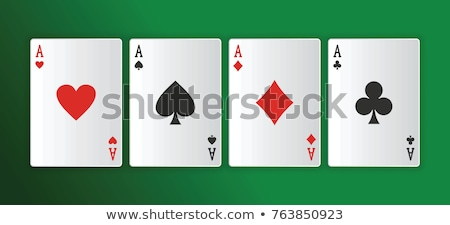 Poker of aces Stock photo © adrenalina