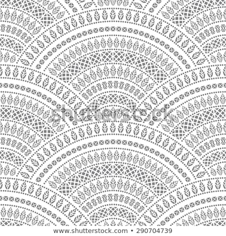 декоративный волна серый тротуар бесшовный текстуры Сток-фото © tashatuvango