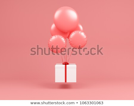 New Year's and Christmas interior in pink color 5 Stock photo © Lenanichizhenova