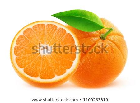 twee · sinaasappelen · witte · voedsel · markt · huid - stockfoto © oleksandro