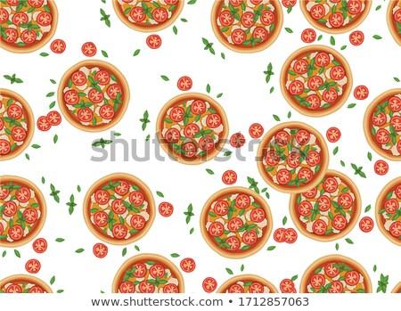 pizza · fresco · pá · pronto · foto - foto stock © vaximilian