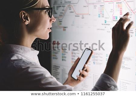 IT Service on the Screen Touch Phone. Stock photo © tashatuvango