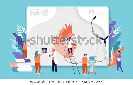 cardiomyopathy diagnosis medical concept stock photo © tashatuvango