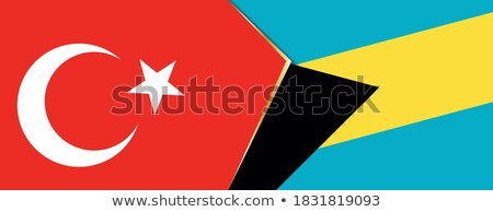 Turkey and Bahamas Flags Stock photo © Istanbul2009