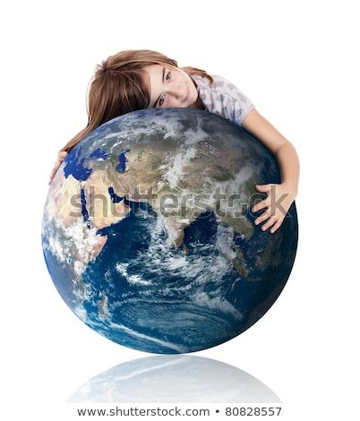 география · класс · мира · учебники · изолированный · белый - Сток-фото © jordanrusev