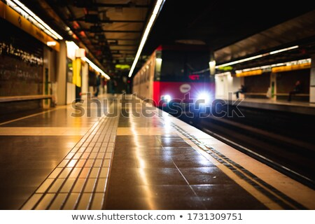 empty metro station stock photo © paha_l