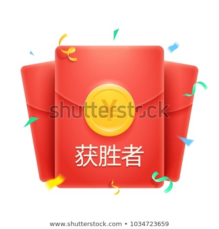 Rouge enveloppe blanche bureau fond Photo stock © kenishirotie