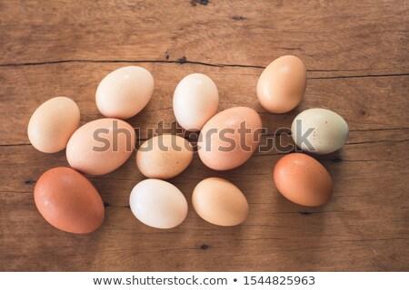 huevos · de · Pascua · diferente · colores · blanco · verde · rojo - foto stock © mady70