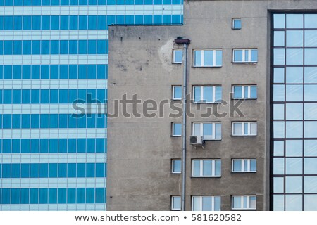 View on old and new Warsaw Stock photo © filipw