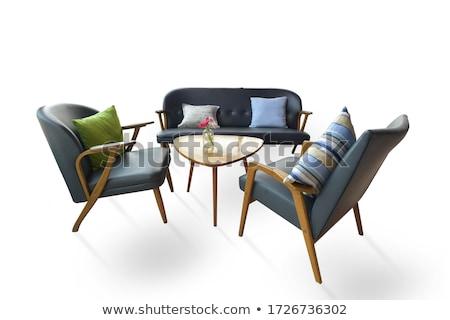 ingesteld · keuken · meubels · geïsoleerd · witte · business - stockfoto © elnur