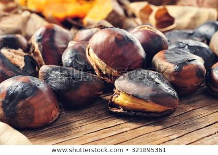 Sweet pommes de terre panier osier Photo stock © nito