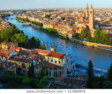 Centre of Verona, Italy Stock photo © dezign80