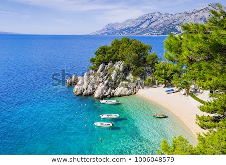 Croatia in the summer Stock photo © leedsn