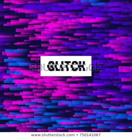 Soyut dijital kaos dalga vektör dizayn Stok fotoğraf © SArts