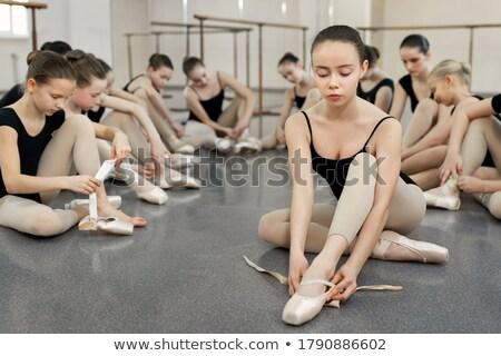かなり 小さな 女性 ダンサー スタジオ アフリカ系アメリカ人 ストックフォト © dash
