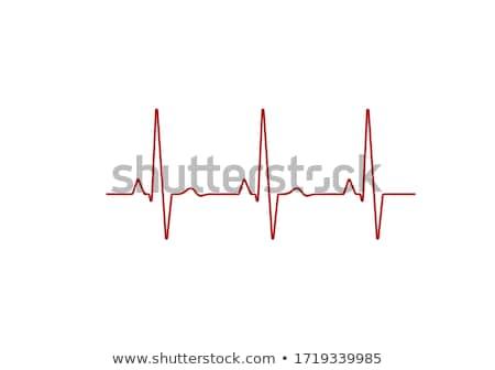 сердцебиение · форма · медицинской · 3d · иллюстрации · медицина · линия - Сток-фото © tussik