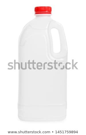 üres tejesflakon fehér porcelán tiszta tárgy Stock fotó © Digifoodstock