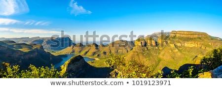 南アフリカ · パノラマ · ルート · ビッグ · 峡谷 - ストックフォト © compuinfoto