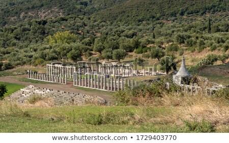 ruines · oude · Grieks · stad · vintage · Europa - stockfoto © ankarb