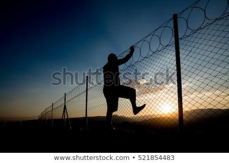 prison escape Stock photo © psychoshadow