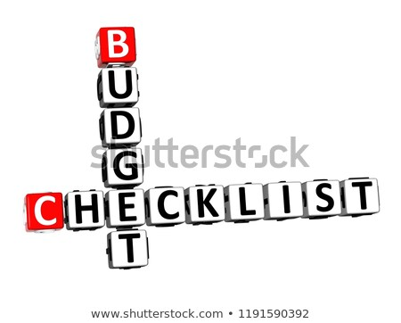 Budget Planning - Text on Clipboard. 3D Illustration. Stock photo © tashatuvango