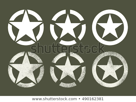 Military and war icons Stock photo © ayaxmr