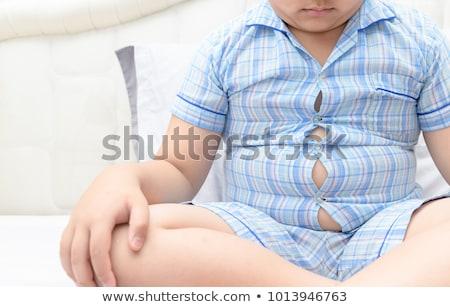 ストックフォト: 太り過ぎ · 子供 · 肥満 · 子供 · 医療 · 健康