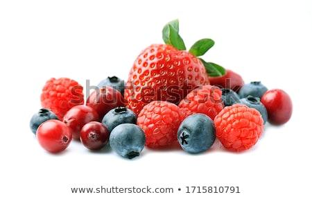 Ahududu meyve yaz gün seçici odak doğa Stok fotoğraf © vtls