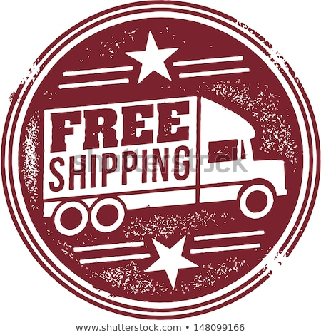 free shipping sticker stock photo © get4net