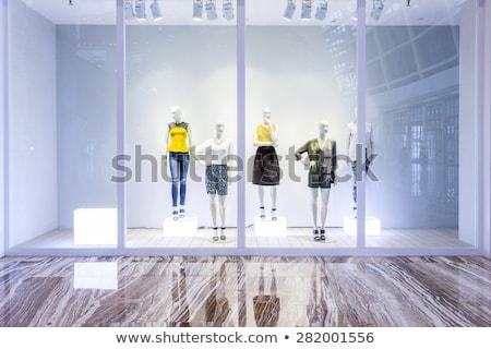 Dress Shop Storefront Stock photo © lenm