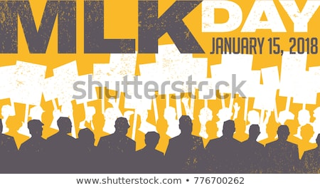 Stockfoto: 15 January Martin Luther King Day