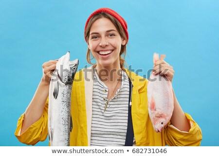 два · Goldfish · рыбы - Сток-фото © is2