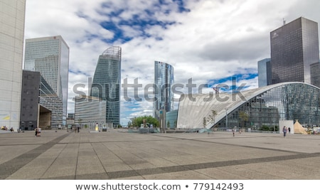The arch in La Defense in Paris, France Stock photo © artfotodima