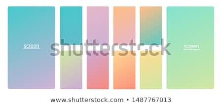 Moderno colorido macio gradientes fundo móvel Foto stock © SArts