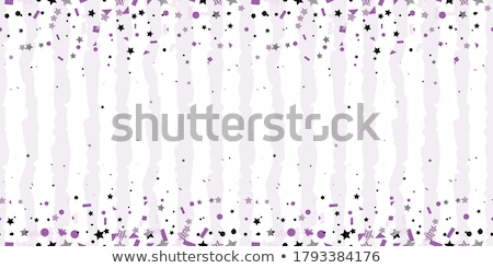 Stock photo: Ultra violet halftone circles seamless pattern. Vector illustration