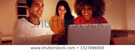 作業 · コンピュータ · 幸せ · 学生 · 技術 - ストックフォト © monkey_business