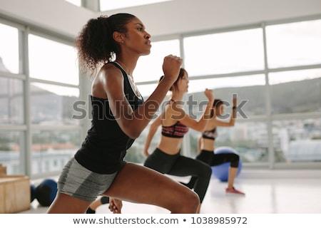 People in exercise studio Stock photo © IS2