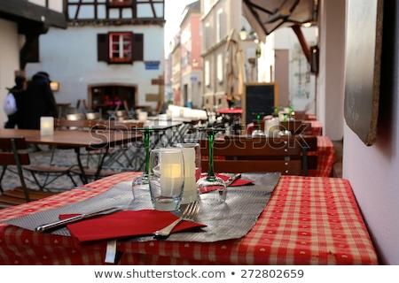 Photo stock: Restaurant In Strasbourg