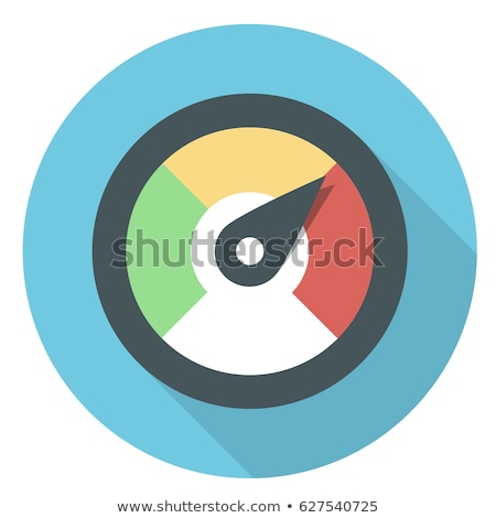 hızölçer · ikon · vektör · yalıtılmış · beyaz · düzenlenebilir - stok fotoğraf © smoki