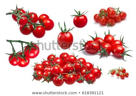 Uva cereja coquetel tomates caminho Foto stock © maxsol7