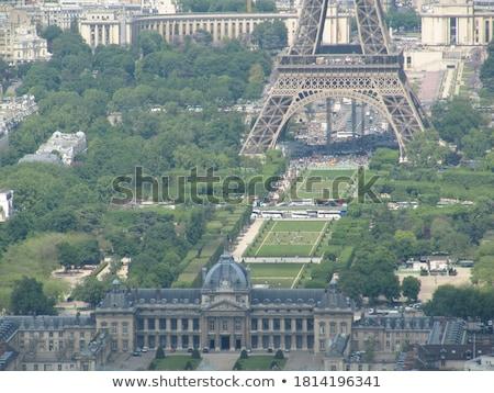 Panorama city of Paris from Montmartre Stock photo © vapi