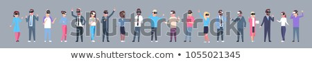 utilisateurs · gens · d'affaires · hommes · femmes · avatar · icônes - photo stock © frimufilms