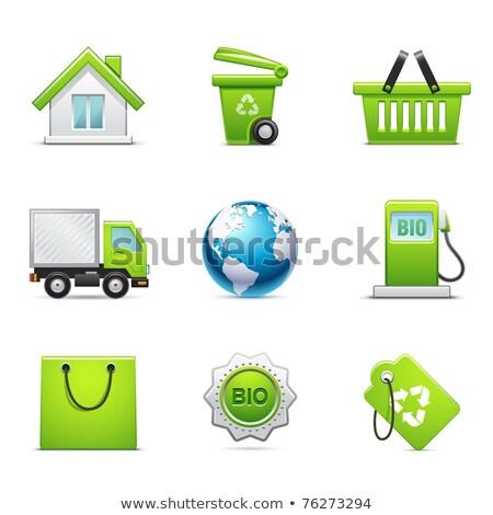 Green Ecommerce Icon Stock photo © kbuntu
