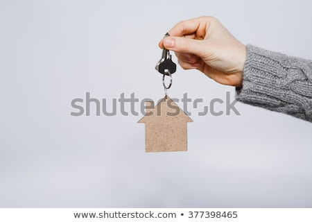 Close-up Of House Key On Human's Hand Stock photo © AndreyPopov