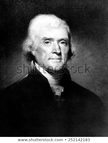 Portrait of  Thomas Jefferson stock photo © DragonEye