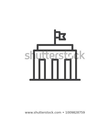 Overheid icon business ontwerp wereld achtergrond Stockfoto © Mark01987