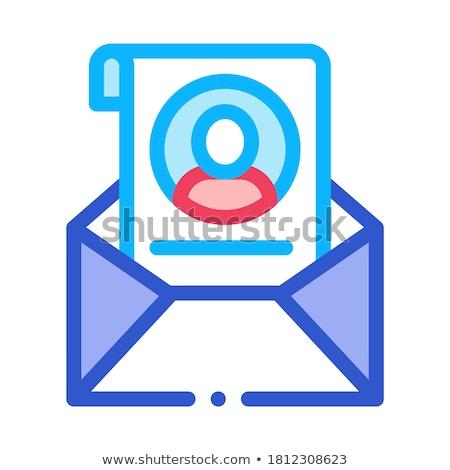 głosowania · komputera · informacji · ikona · wektora - zdjęcia stock © pikepicture