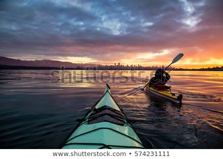 explore mountains kayak Stock photo © orla