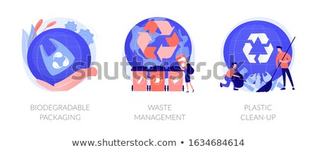 Waste sorting vector concept metaphor Stock photo © RAStudio
