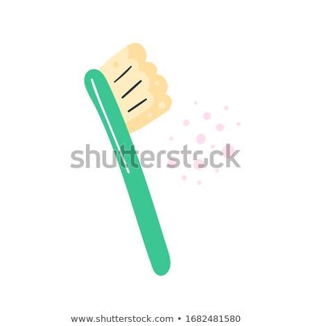 Higiene produtos limpeza escova de dentes banho Foto stock © foxbiz